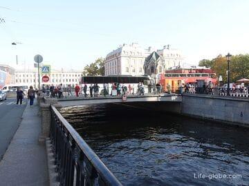 Ново-Конюшенный мост в Санкт-Петербурге, через канал Грибоедова