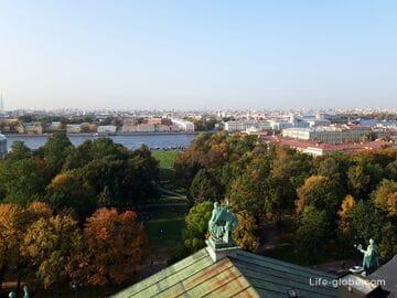 Колоннада Исаакиевского собора - смотровая площадка Санкт-Петербурга