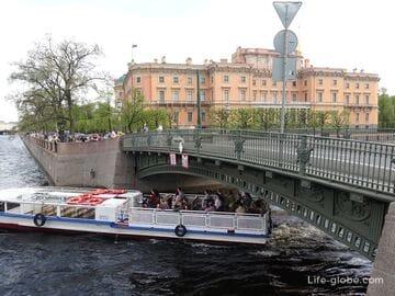 1-й Инженерный мост в Санкт-Петербурге - мост с Чижиком-Пыжиком