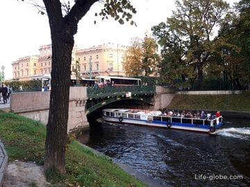 1-й Садовый мост в Санкт-Петербурге, через Мойку