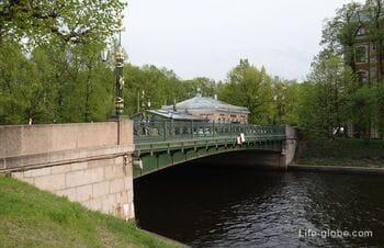2st Sadovy Bridge (Garden Bridge) in Saint Petersburg, across the Moika