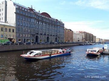 Река Мойка в Санкт-Петербурге: набережная, мосты, здания (с фото, описанием и адресами)