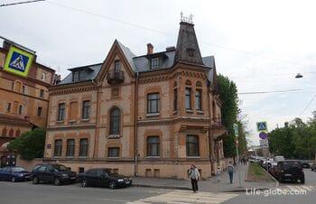 Особняк и собственный дом Шретера в Санкт-Петербурге, набережная Мойки 112 и 114