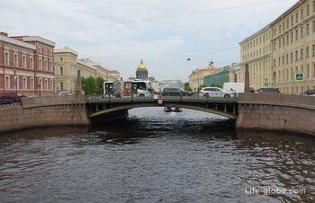 Поцелуев мост в Санкт-Петербурге: легенды, фото, описание