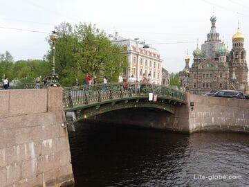 Три моста в Санкт-Петербурге: Мало-Конюшенный, Театральный и Ложный - Трёхмостье города (Тройной мост через Мойку и канал Грибоедова)