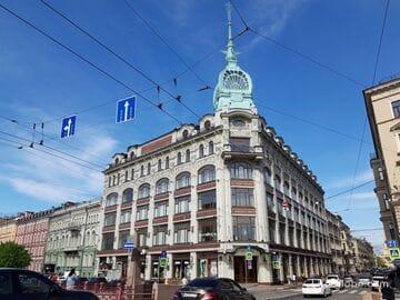 Универмаг «У Красного моста» (Au Pont Rouge) в Санкт-Петербурге - Торговый дом «С. Эсдерс и К. Схейфальс»