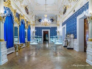 Музей Фаберже в Санкт-Петербурге (Шуваловский дворец)