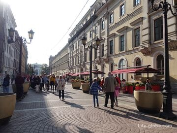 Малая Садовая улица, Санкт-Петербург