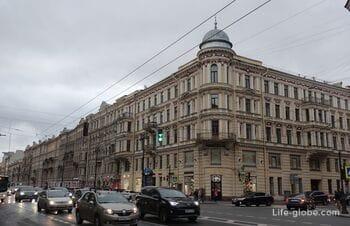 Невский проспект, часть 3 - от площади Восстания до площади Александра Невского (Старо-Невский проспект)