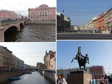 Мосты Невского проспекта в Санкт-Петербурге