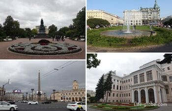 Площади, скверы, парки и сады Невского проспекта, Санкт-Петербург
