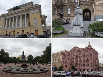 Площадь Островского в Санкт-Петербурге
