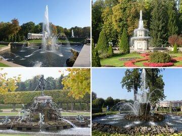 Фонтаны Петергофа (Санкт-Петербург) - все фонтаны с фото, видео и описаниями: Нижнего парка и Верхнего сада дворцово-паркового ансамбля Петергоф