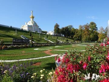 Нижний парк в Петергофе - парк фонтанов (Санкт-Петербург)