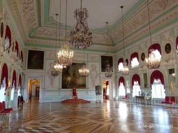 Залы Большого дворца, Петергоф (Санкт-Петербург)