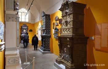 Музей архитектурной художественной керамики «КЕРАМАРХ», Петропавловская крепость, Санкт-Петербург