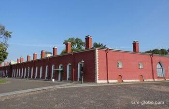 Петровская куртина Петропавловской крепости, Санкт-Петербург