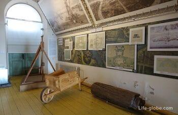 Экспозиция «История Петропавловской крепости» в Санкт-Петербурге