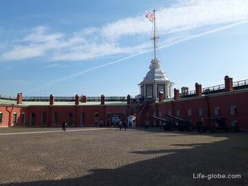 Нарышкин бастион и Флагшточная башня, Петропавловская крепость, Санкт-Петербург