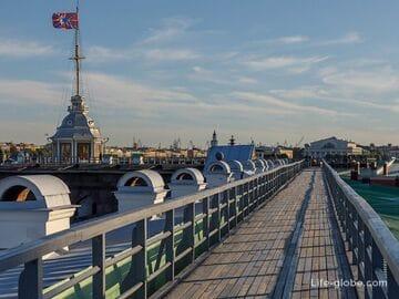 Невская панорама - смотровой маршрут по крышам Петропавловской крепости в Петербурге