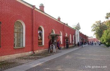 Невская куртина Петропавловской крепости, Санкт-Петербург