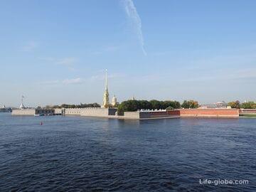 Петропавловская крепость в Санкт-Петербурге - путеводитель