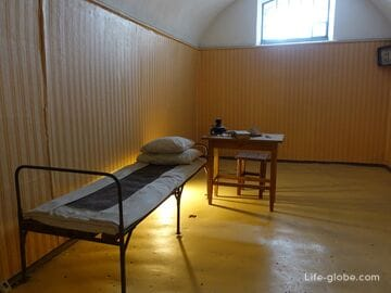 Тюрьма Трубецкого бастиона - музей в Петропавловской крепости, Санкт-Петербург