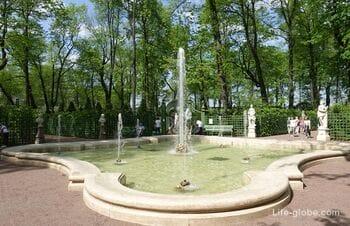 Summer Garden in Saint Petersburg - the oldest in the city
