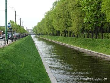Лебяжья канавка, Санкт-Петербург: фото, мосты, описание, история