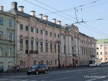 Строгановский дворец в Санкт-Петербурге (Русский музей)