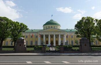 Tauride Palace in Saint Petersburg: photo, description, visit