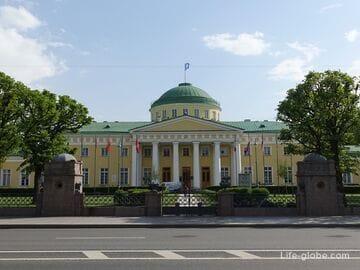 Таврический дворец в Санкт-Петербурге: фото, описание, посещение