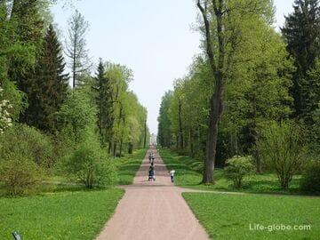 Александровский парк и Александровский дворец в Царском Селе (Пушкин, Санкт-Петербург)