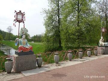 Large Chinese Bridge in Alexander Park, Tsarskoe Selo (Pushkin, Saint Petersburg)