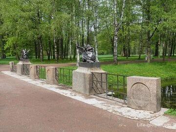 Драконов мост в Александровском парке, Царское Село (Пушкин, Санкт-Петербург)