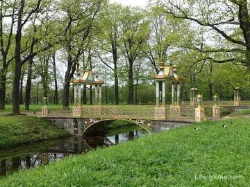 Китайские мостики в Александровском парке, Царское Село (Пушкин, Санкт-Петербург)
