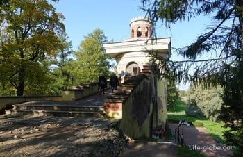 Башня-руина в Екатерининском парке, Царское Село (Пушкин, Санкт-Петербург) - смотровая площадка парка