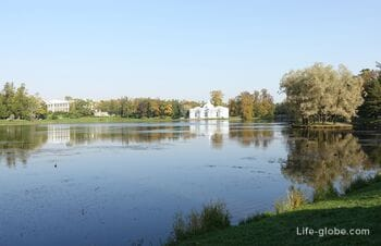 Большой пруд в Екатерининском парке, Царское Село (Пушкин, Санкт-Петербург)