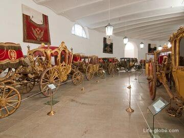 Дежурная конюшня - выставка Придворный экипаж, Царское Село (Пушкин, Санкт-Петербург)