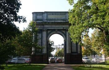Орловские ворота в Екатерининском парке, Царское Село (Пушкин, Санкт-Петербург)