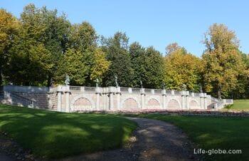 Гранитная терраса в Екатерининском парке, Царское Село (Пушкин, Санкт-Петербург)