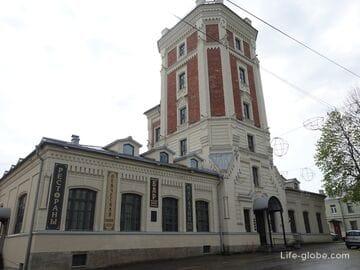 Певческая башня в Пушкине: рестораны, отель, смотровая площадка