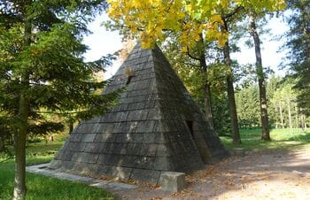 Пирамида в Екатерининском парке, Царское Село (Пушкин, Санкт-Петербург)