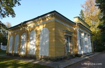 Вечерний зал в Екатерининском парке, Царское Село (Пушкин, Санкт-Петербург)
