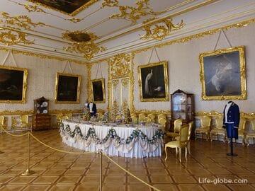 Залы Екатерининского дворца, Царское Село (Пушкин, Санкт-Петербург)