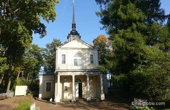 Church of the Sign in Pushkin, St. Petersburg - the first church in Tsarskoye Selo