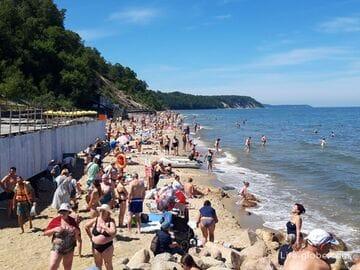 Пляжи и променад в Светлогорске