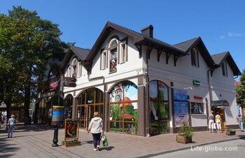 Улица Ленина в Светлогорске - центральная улица курорта