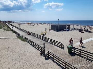 Пляжи в Янтарном, Калининградская область (Голубой флаг)