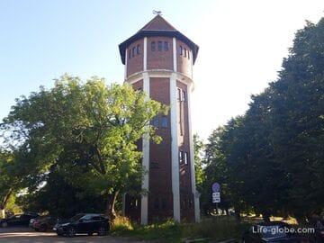Водонапорная башня в Янтарном (водонапорная башня Пальмникена)